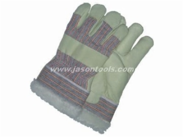 pig leather gloves